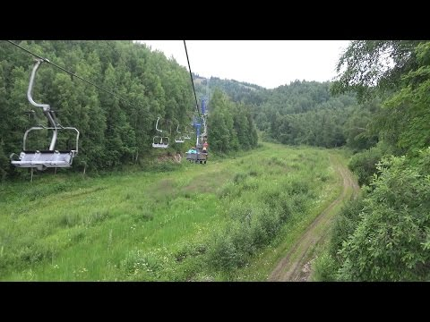 Байкальская сказка. Часть-2. Город Байкальск: гора Соболиная, подъёмник.