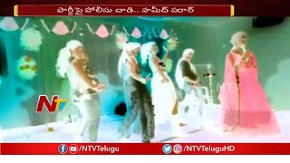 Rave Party Busted in Hyderabad, Police Arrestd 3 Men and 5 Women | NTV