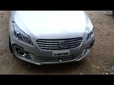 New Maruti Suzuki Ciaz 2017 Chrome Modification Accessories Exterior