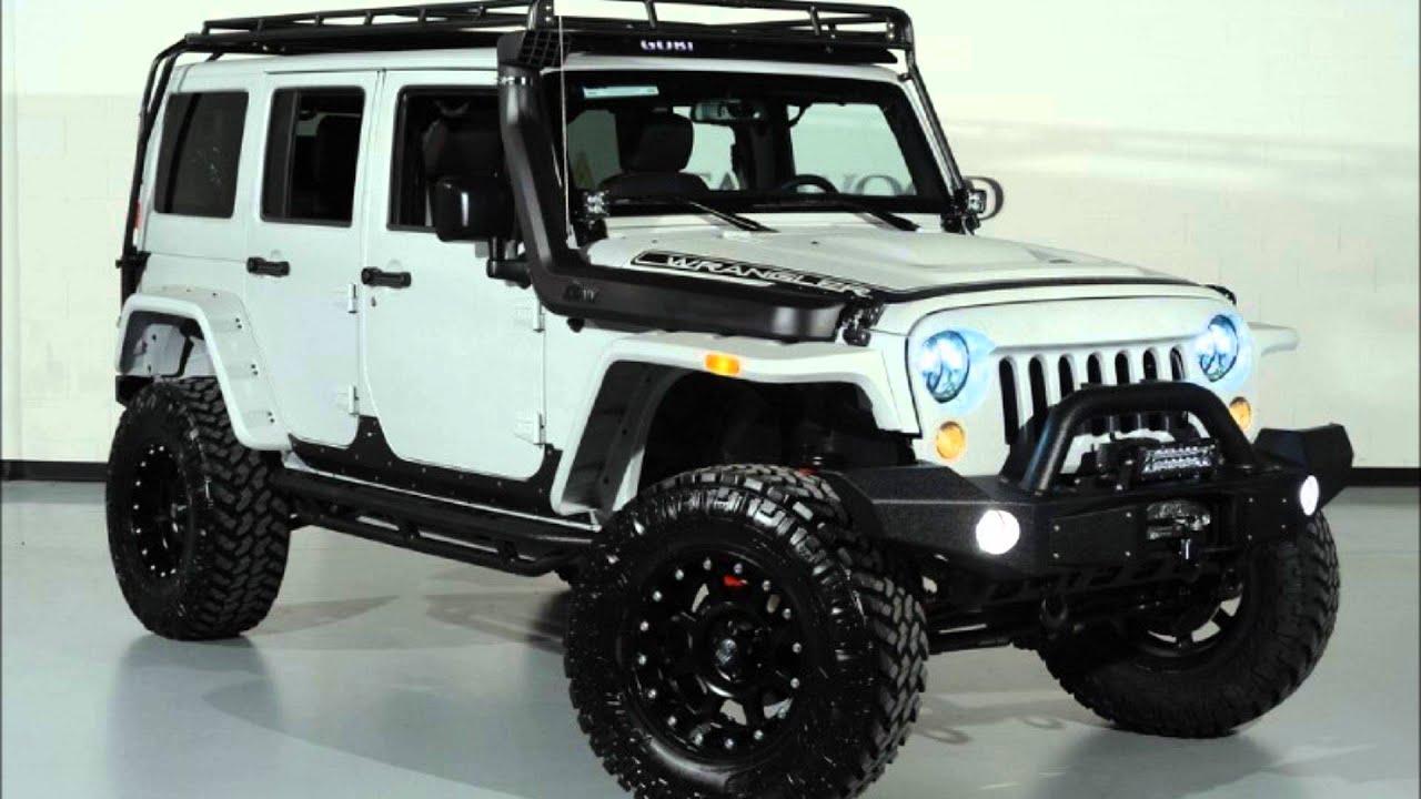 2015 Jeep Wrangler Unlimited Kevlar Coated Lifted Custom