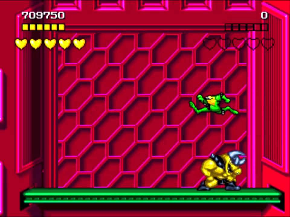 Sega Genesis Battletoads Level 10 Rat Race Youtube