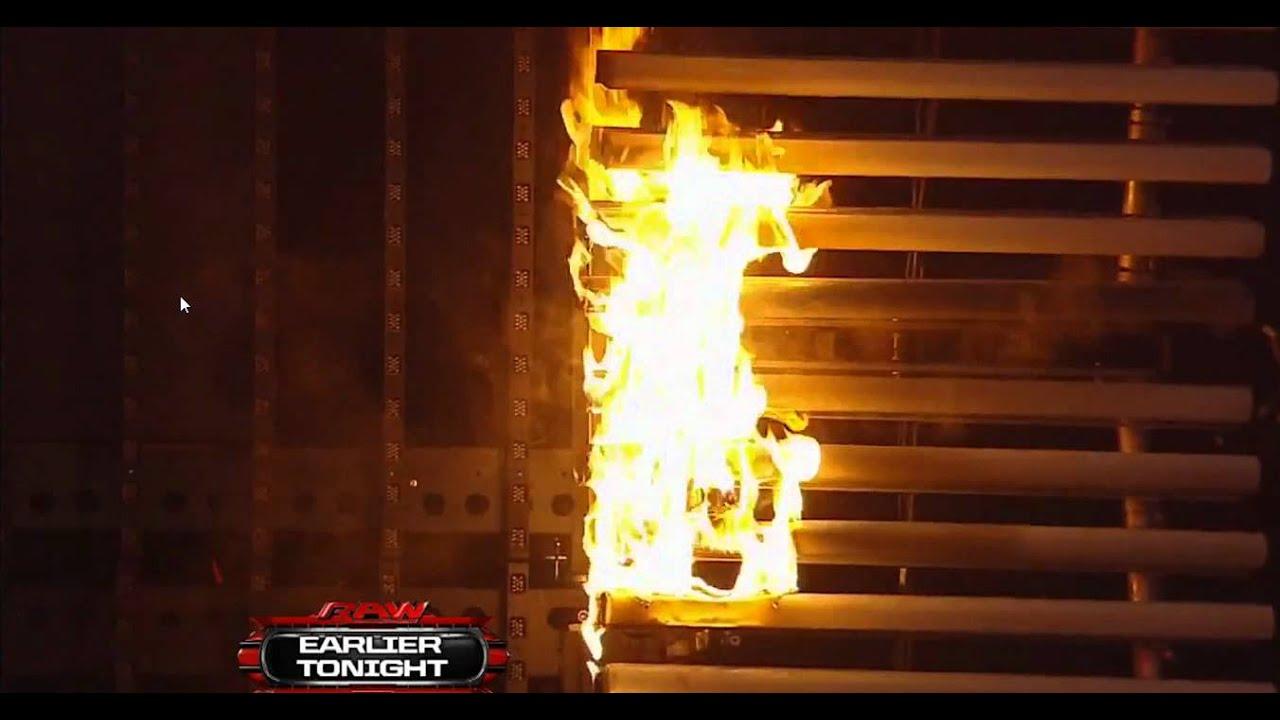 Resultado de imagem para raw set on fire