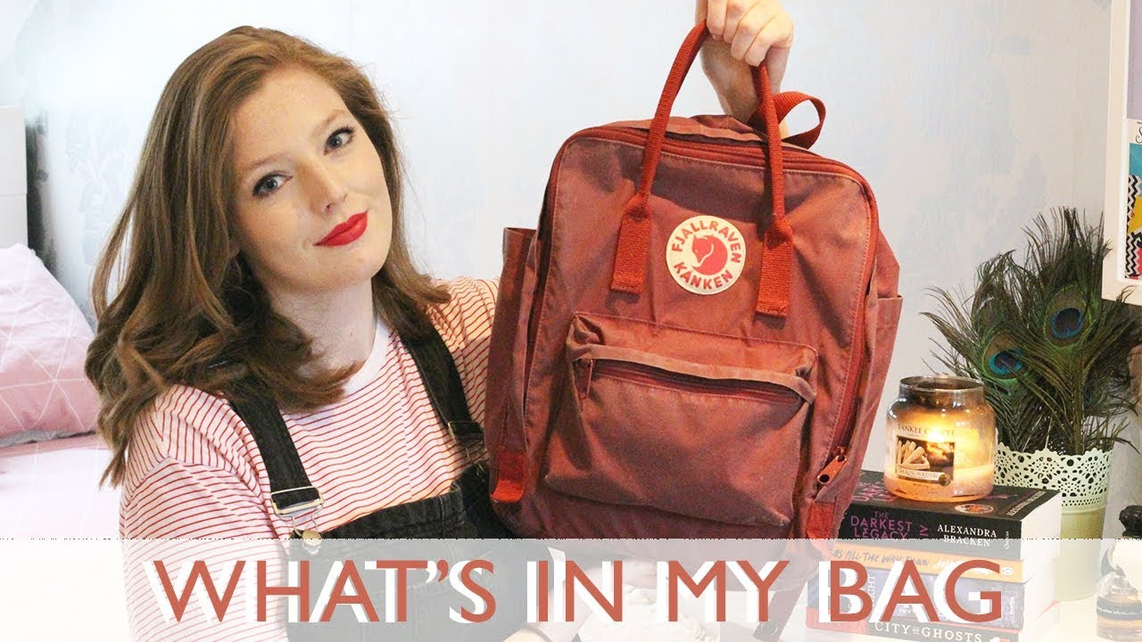 41ac6ff4c426 WHAT'S IN MY BAG 2018 | The Book Belle - YouTube