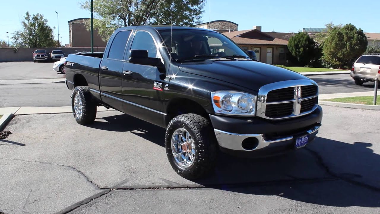 2009 Dodge Ram 2500 Quad Cab Sxt 6 7l Cummins Turbo Diesel