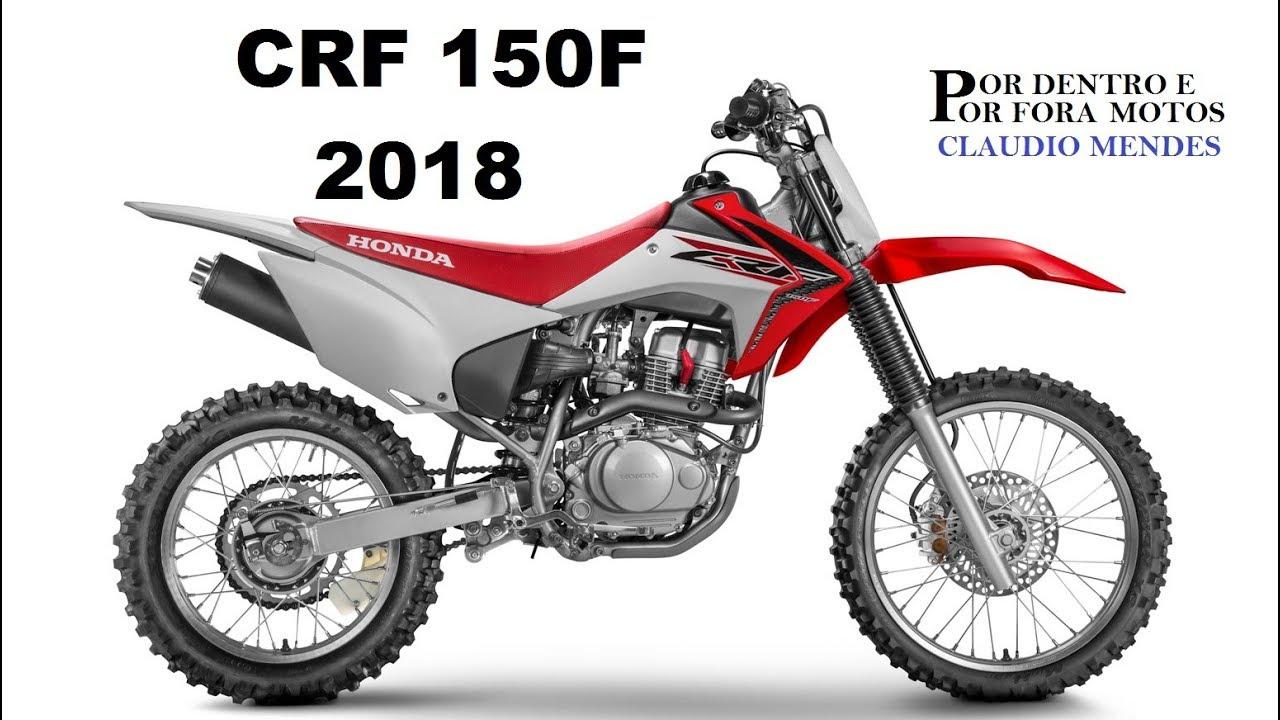 honda crf 150f 2018 com muitos detalhes [ 1280 x 720 Pixel ]
