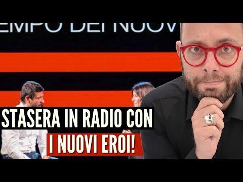 Il Tempo dei Nuovi Eroi di Oscar di Montigny su Radio Italia