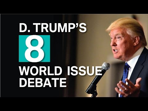 Interview Donald Trump vs World War HD (China, Iran, Mexico, Iran, Iraq, Abu Dhabi - be afraid)