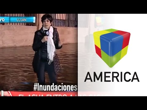 Inundaciones: la dramática situación de Luján