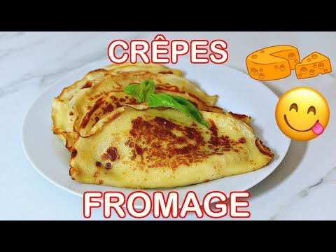 recette-crêpes-fromage-dinde-|-savory-cheese-turkey-filled-crepes-[ramadan]