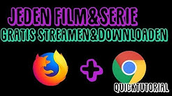 Jeden HDFilm/Serie GRATIS streamen + DOWNLOADEN im Browser | Quicktutorial | Dannysea