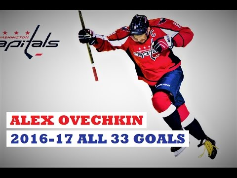 Alex Ovechkin (#8) ● ALL 33 Goals 2016-17 Season (HD)