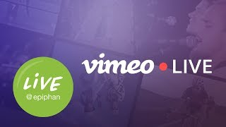 Vimeo Live - Setup and tour