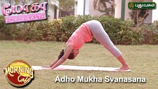 Adho Mukha Svanasana (Downward Facing Dog Pose ) | யோகா For Health | 19/04/2017