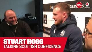 Stuart Hogg | Facing Ireland | Six Nation leadership | Scottish confidence