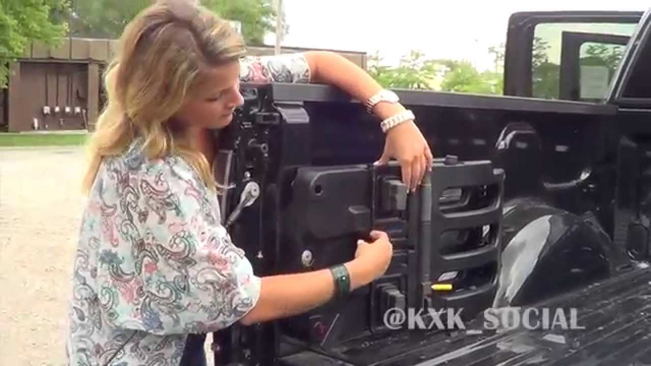 2014 ford raptor tailgate extender - youtube