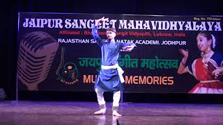 khattak dance performance JSMV