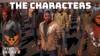 State Of Decay 2 Starter Characters Breakdown - Who Will You Choose?