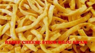 Resep Cara Membuat Cheese Stick Keju Edam Renyah | Stick Keju Edam