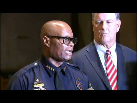 Dallas Mayor and Police Chief News Conference