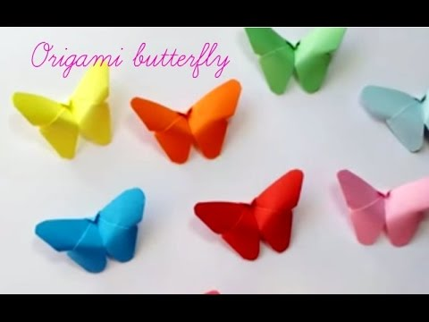 Diy paper crafts how to make  butterfly very easy innovative arts youtube also rh