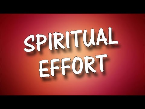 Spiritual Effort - Charles M. Thorell