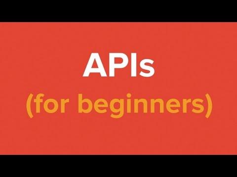 Les APIs pour débutants