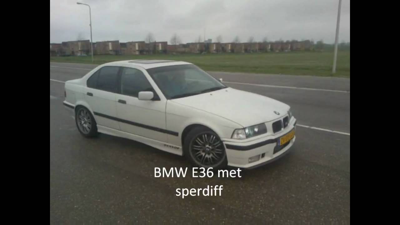 Bmw E36 Without Lsd Vs With Lsd Youtube