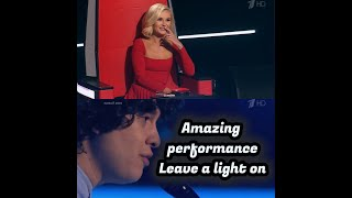 "Anton Tokarev  ""Leave a Light On"" Tom Walker - Blind Auditions - The Voice Russia"