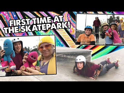 HOW TO RAMP SKATE FOR BEGINNERS / FIRST TIME AT THE SKATEPARK - Planet Roller Skate Ep. 23