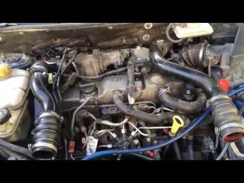 Форд тоурнео коннект 1.8 cdi обмен насоса высокого давления система сименс  часть 2