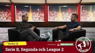 Eurotalk Weekend: Serie B, Segunda och League 2