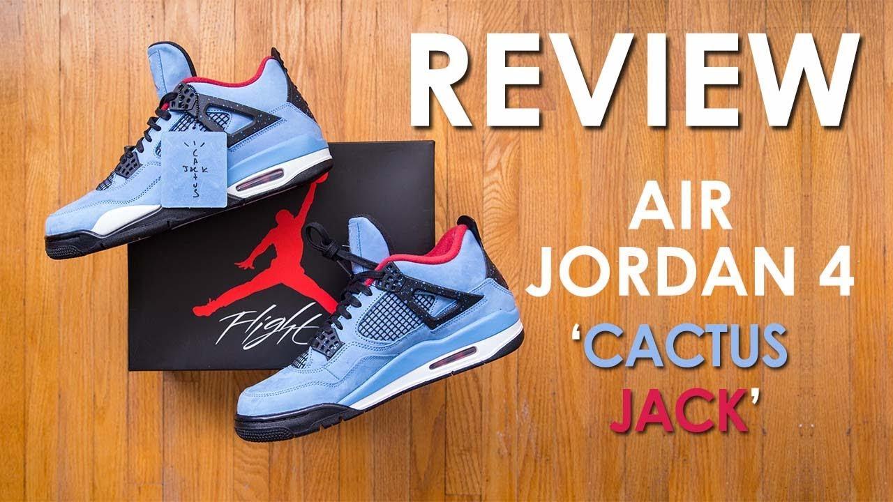 7f8fb32b4fcc32 Air Jordan 4  Cactus Jack  by Travis Scott Review