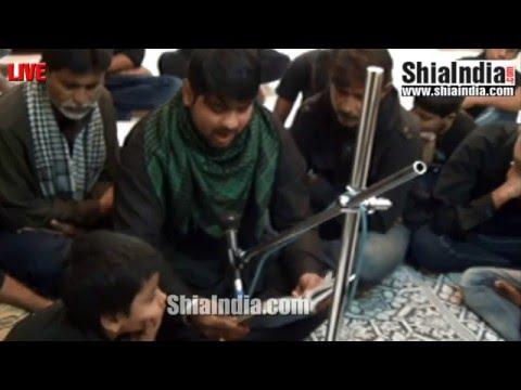 25th Safar Majlis at Moti Darwaza Golconda Qila 1437-2015-16