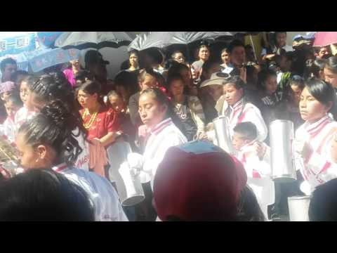 Desfile  en la Feria de San Pedro Soloma 2015