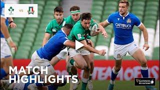 Match Highlights Ireland v Italy Guinness Six Nations