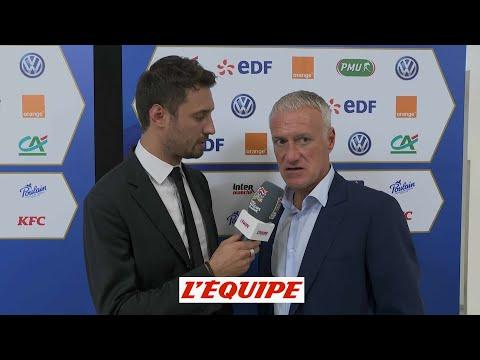 Deschamps «Un match cohérent» - Foot - L. Nations - Bleus