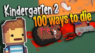 100 funny ways to Die in Kindergarten 2