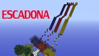 Minecraft: Meu mapa de escadona para o EduKof