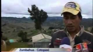 Lluvias afectan una decena de viviendas en la provincia de Cotopaxi