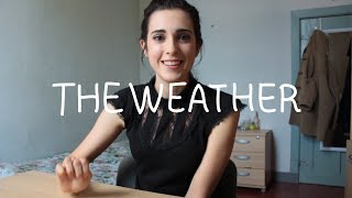 Weekly Spanish (Spain) Words with Rosa - The Weather