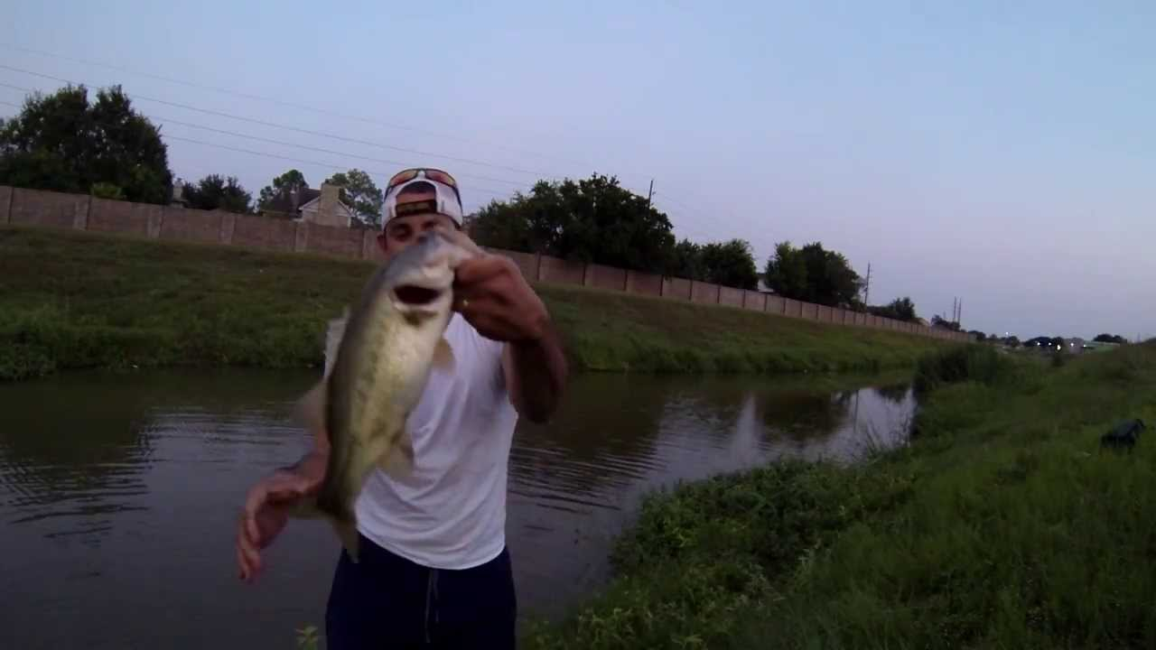 Shaky head jig 101 bayou bass fishing houston tx 720p for Lake houston fishing report