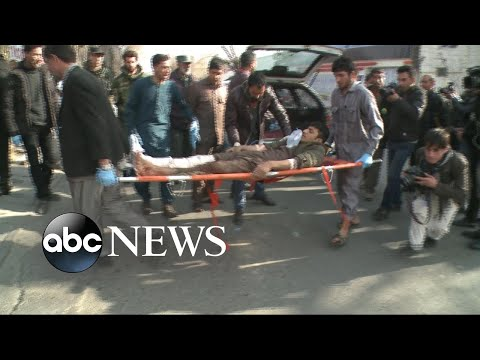 At least 95 dead in Kabul suicide bombing