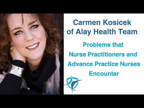 Interview with Carmen Kosicek, MSN, APNP, PMHNP-BC