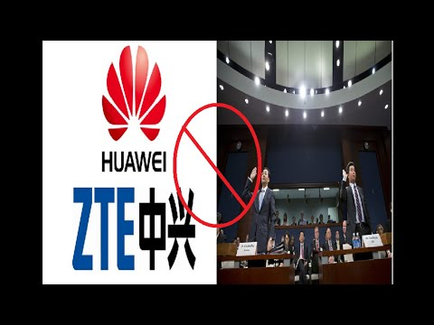 ZTE & Huawei BANNED FROM ALL US MILITARY BASES & STORES BY PENTAGON!