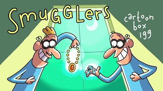 Smugglers | Cartoon Box 199 | by FRAME ORDER | hilarious dark cartoons