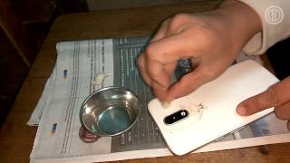 How to fix the phone\'s blurry / scratched camera