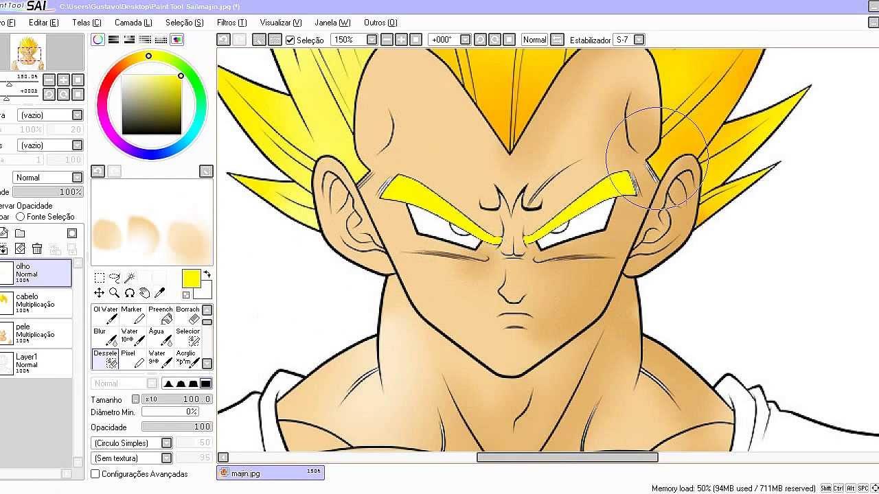 Como Pintar Um Desenho No Paint Tool Sai Com O Mouse Youtube