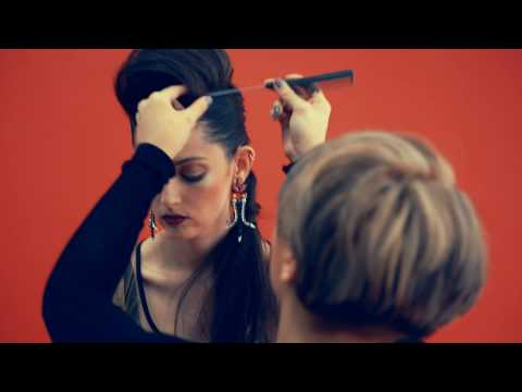 The Cut Above Photoshoot with Hairdressing Academy Student Jade Muñoz