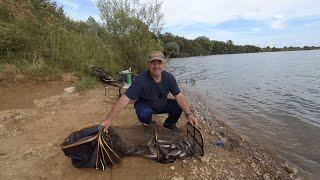 Рыбалка на Рузском водохранилище Осташево 14 августа