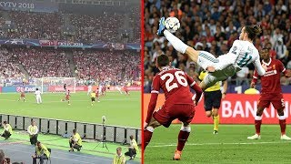 Video REAL MADRID VS LIVERPOOL & GARETH BALE BICYCLE KICK GOAL!!! | CHAMPIONS LEAGUE FINAL 2018 download MP3, 3GP, MP4, WEBM, AVI, FLV Juli 2018